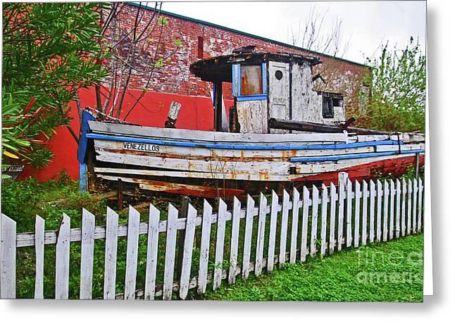Redneck Dry Dock Greeting Card