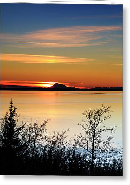 Redoubt Reliquish Greeting Card by Ed Boudreau