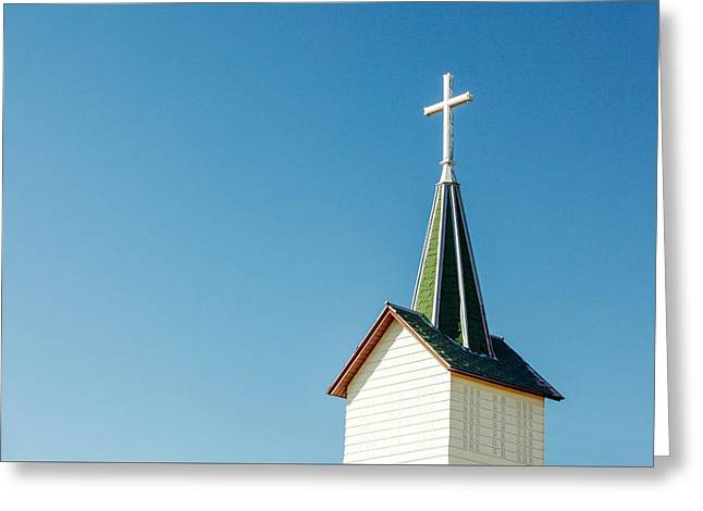 Redstone Steeple Greeting Card