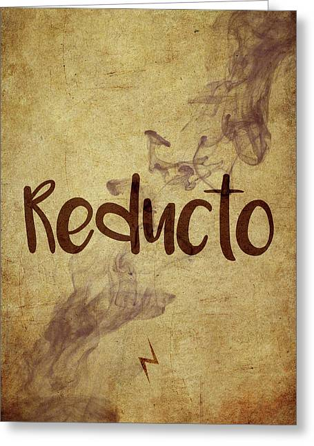 Reducto Greeting Card