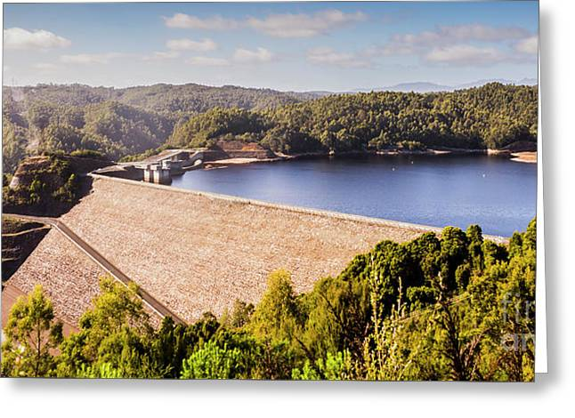 Reece Dam, Western Tasmania Greeting Card
