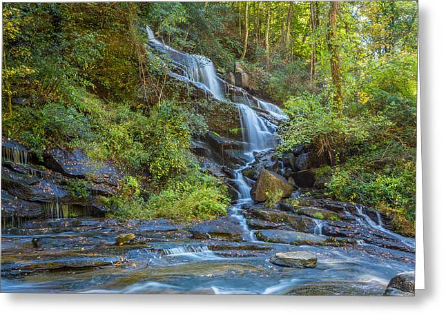 Reedy Cove Falls 3 Greeting Card by Gestalt Imagery