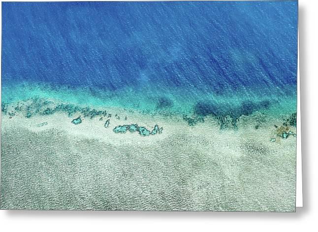 Reef Barrier Greeting Card