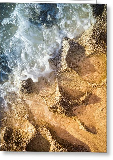 Greeting Card featuring the photograph Reefy Textures by T Brian Jones