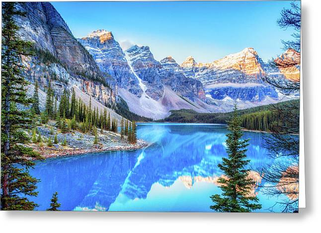 Reflect On Nature Greeting Card by James Heckt