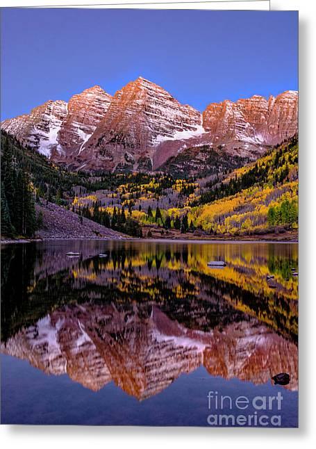 Reflecting Dawn Greeting Card