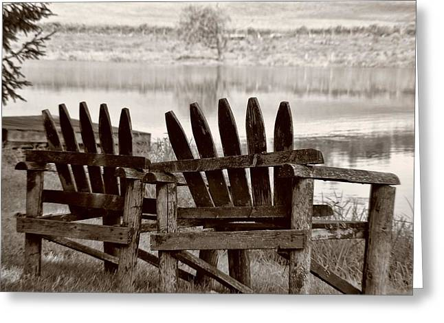 Reflecting Greeting Card by JAMART Photography