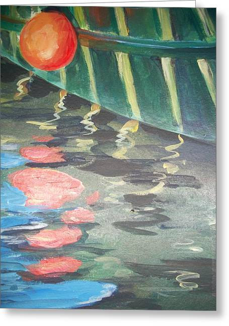 Reflecting Greeting Card by Mickey Bissell