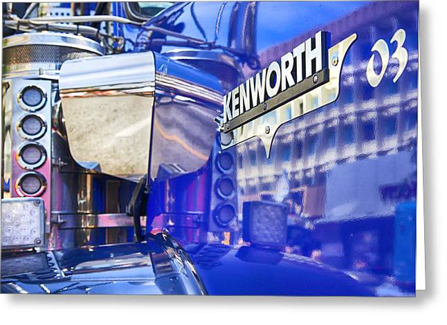 Reflecting On A Kenworth Greeting Card