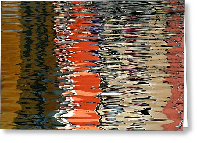 Reflection Abstract 1 Greeting Card
