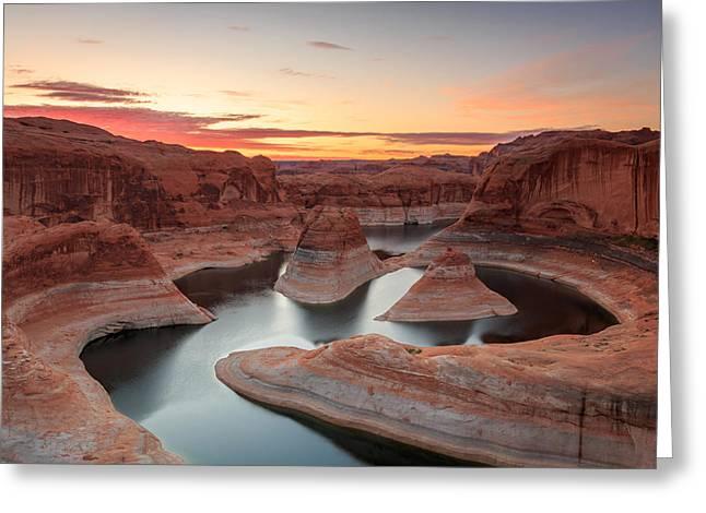 Reflection Canyon Greeting Card