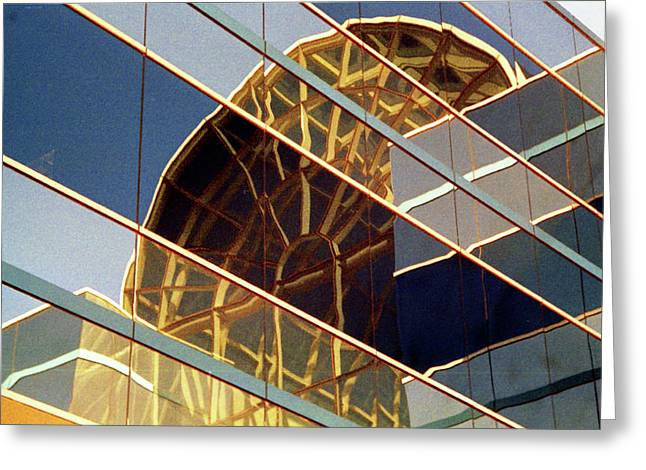 Greeting Card featuring the photograph Reflection by John Schneider