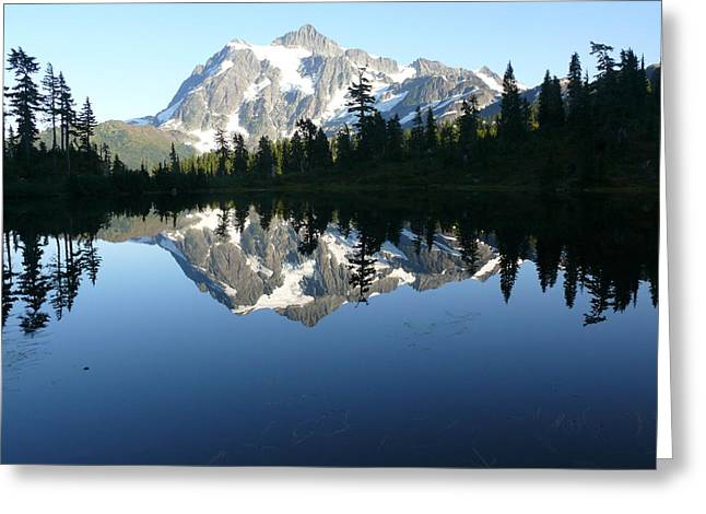 Reflection Lake Greeting Card by Joel Deutsch