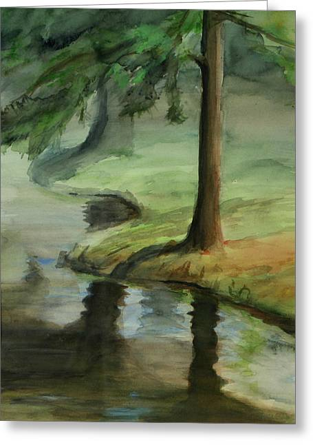Reflection Greeting Card by Lori McCray