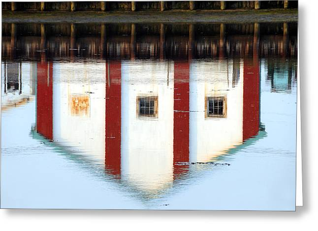 Reflection No 1 Greeting Card by JoAnn Lense