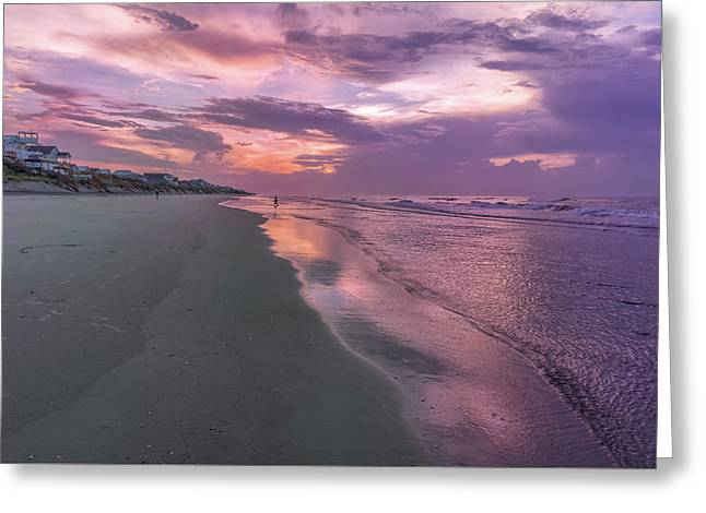 Reflection Of The Dawn Greeting Card