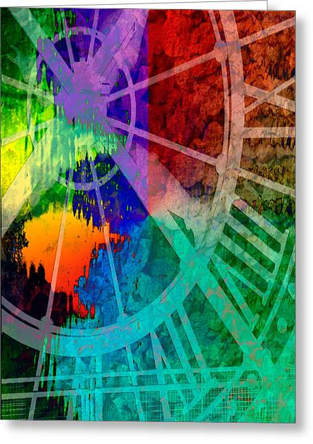 Reflection Of Time Greeting Card by Brian Roscorla