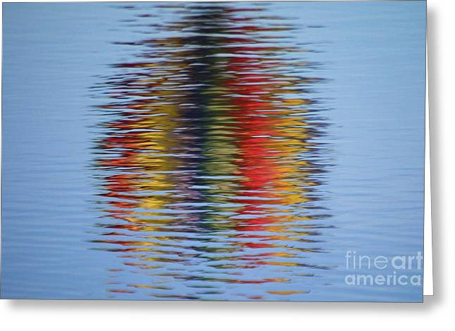 Reflection Greeting Card by Steve Stuller