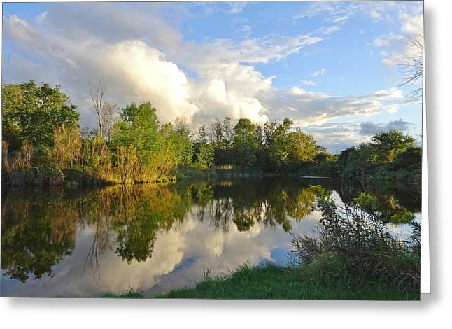 Reflection Time Greeting Card