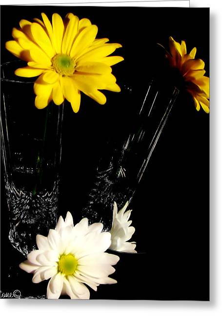 Reflections 1  Greeting Card by September  Stone
