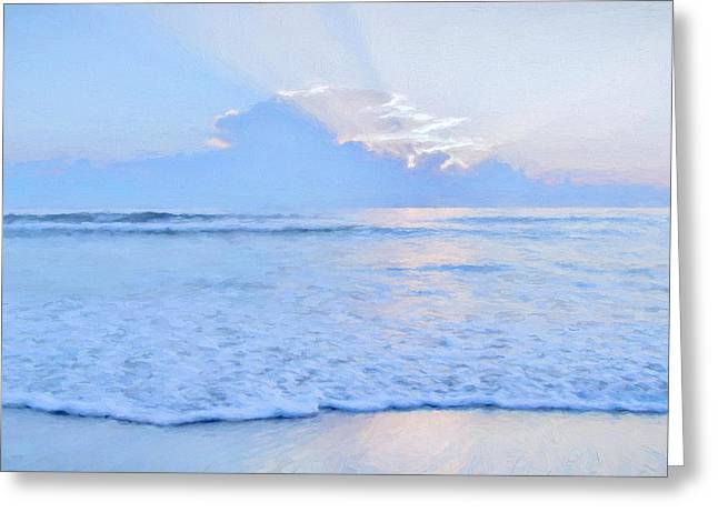 Reflections 6 Greeting Card by Lonnie Christopher