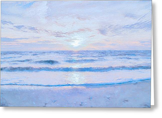 Reflections 8 Greeting Card by Lonnie Christopher