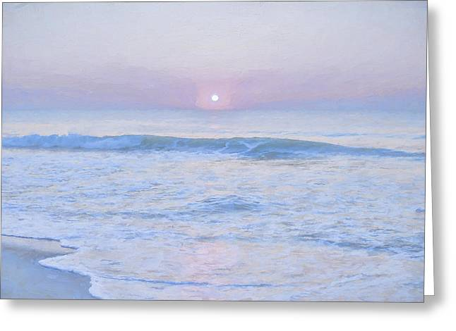 Reflections 9 Greeting Card by Lonnie Christopher