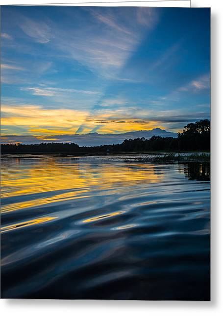 Reflections And Rays Greeting Card