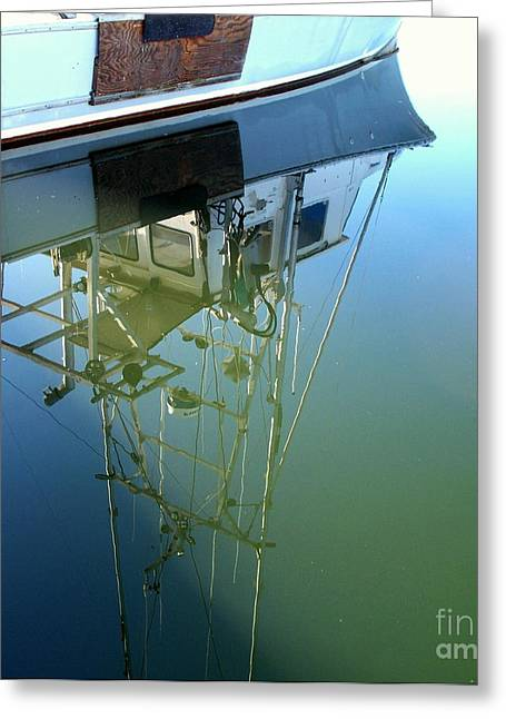 Greeting Card featuring the photograph Reflections by Carol Grimes