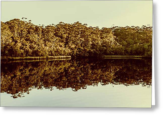 Reflections From Cockle Creek  Greeting Card