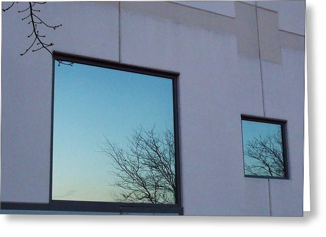 Reflections I Greeting Card by Anna Villarreal Garbis