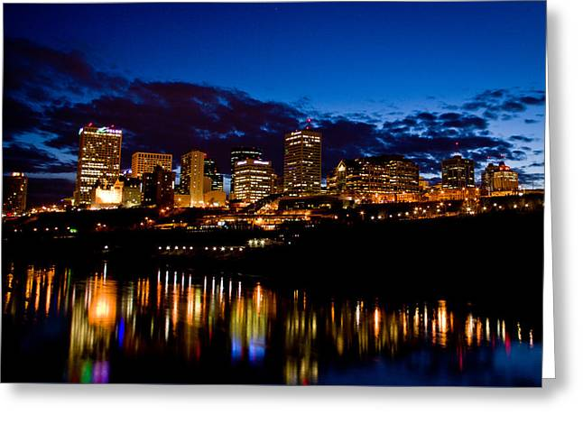 Reflections Greeting Card by Ian MacDonald