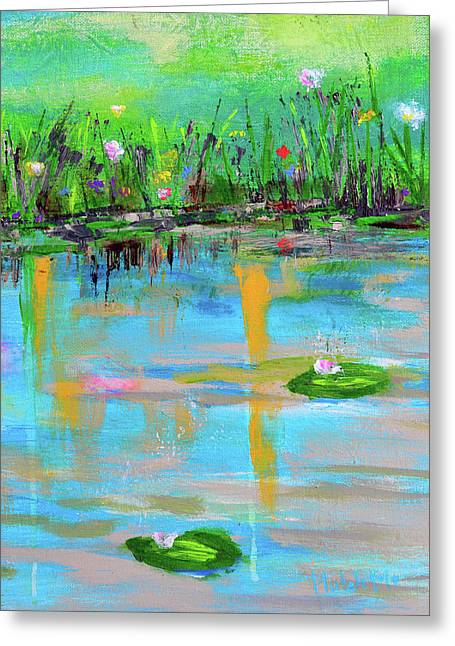 Reflections In Spring Greeting Card