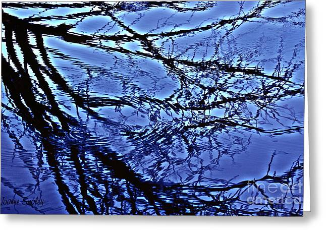 Reflections Greeting Card by Joanne Smoley