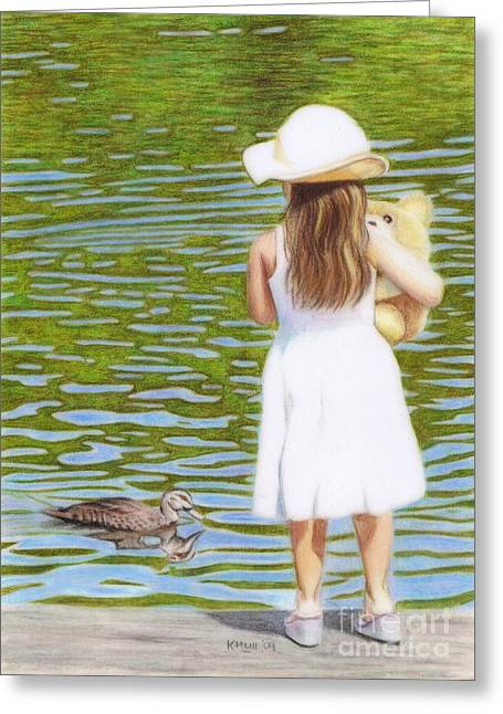 Reflections Greeting Card by Karen Hull