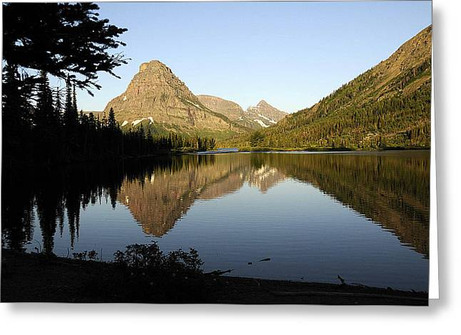 Reflections Greeting Card by Keith Lovejoy