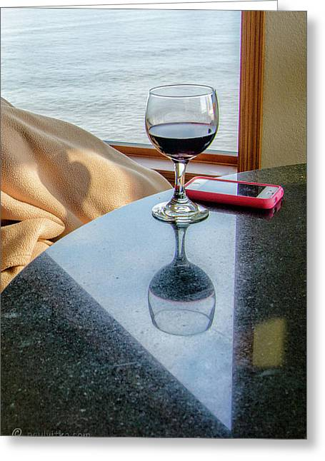 Reflections Lake Superior.... Greeting Card