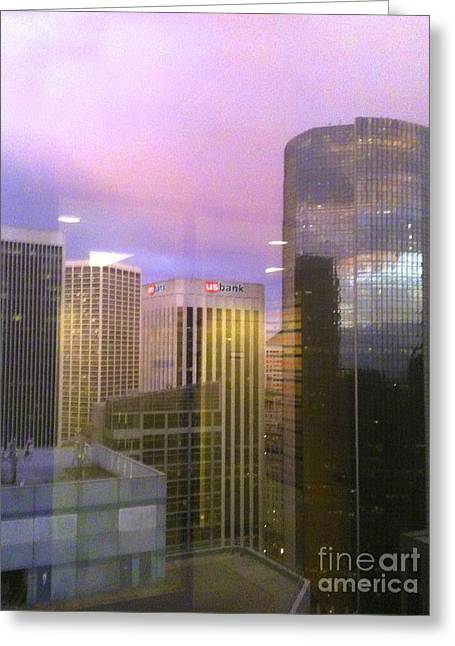 Reflections Looking East Greeting Card