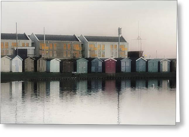 Reflections Greeting Card by Martin Newman