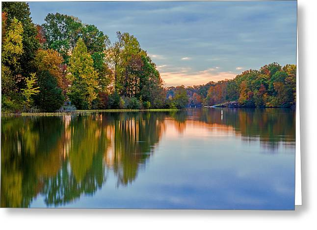 Reflections Of Autumn Greeting Card