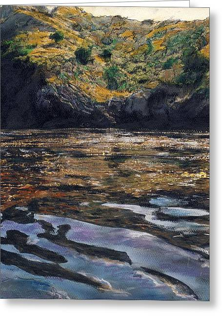 Reflections Of Catalina Greeting Card