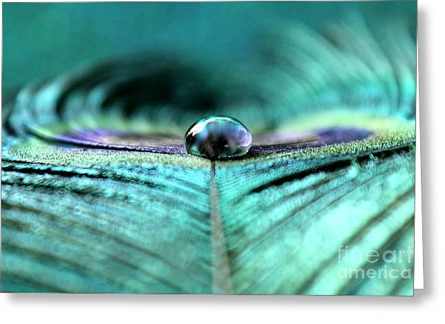 Reflections Of Clarity Greeting Card by Krissy Katsimbras