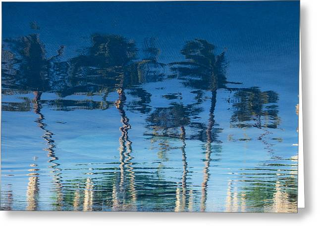 Reflections Of Hawaii Greeting Card by Susan Stone