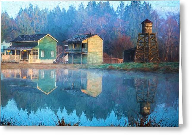 Reflections Of Hope - Hope Valley Art Greeting Card