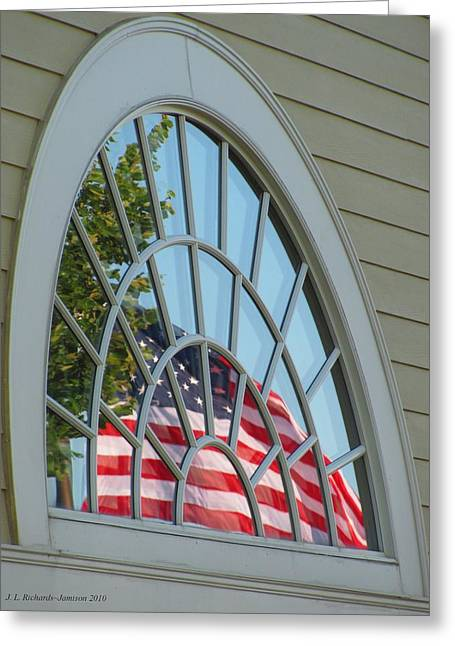 Reflections Of Independence Greeting Card
