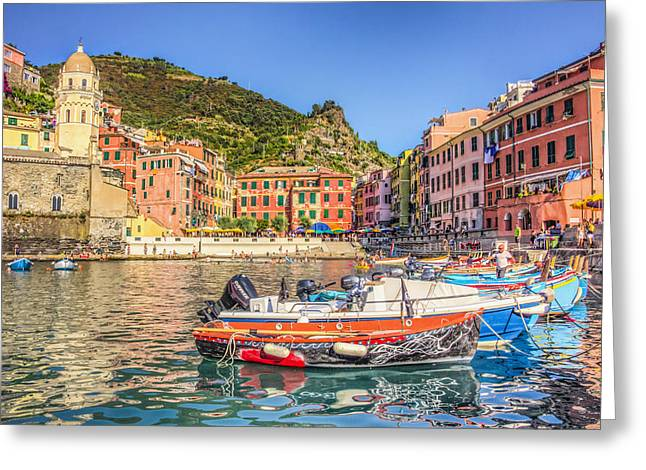 Reflections Of Italy Greeting Card