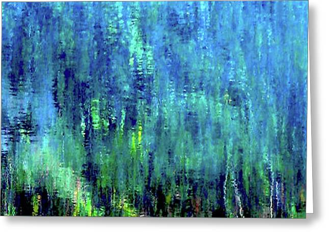 Reflections Of Monet 8155 H_12 Greeting Card
