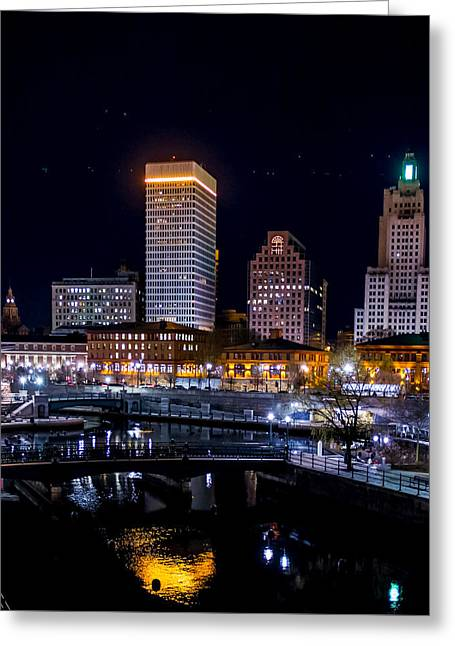 Reflections Of Providence Greeting Card