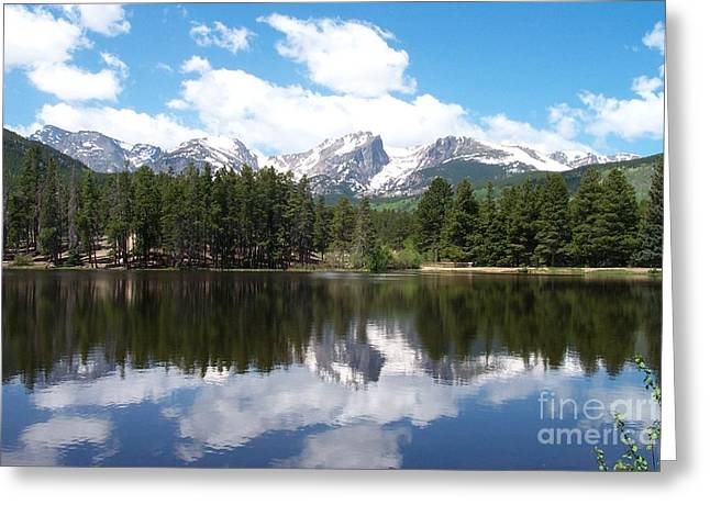 Reflections Of Sprague Lake Greeting Card
