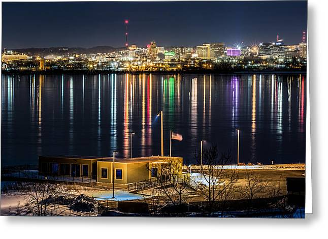 Reflections Of Syracuse Greeting Card